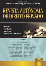 Capa do livro: Revista Autônoma de Direito Privado - Número 3, Coordenadores: Arruda Alvim e Angélica Arruda Alvim
