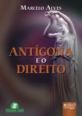 Capa do livro: Antígona e o Direito, Marcelo Alves