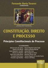 Capa do livro: Constitui��o, Direito e Processo - Princ�pios Constitucionais do Processo, Coordenador: Fernando Horta Tavares