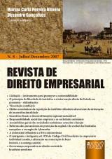 Capa do livro: Revista de Direito Empresarial - N� 08 � Julho/Dezembro 2007, Coords. Marcia Carla Pereira Ribeiro e Oksandro Gon�alves