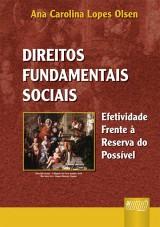 Capa do livro: Direitos Fundamentais Sociais - Efetividade Frente à Reserva do Possível, Ana Carolina Lopes Olsen