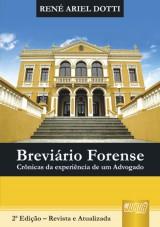 Capa do livro: Breviário Forense - Crônicas da Experiência de um Advogado, René Ariel Dotti