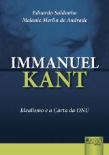 Capa do livro: Immanuel Kant, Eduardo Saldanha e Melanie Merlin de Andrade