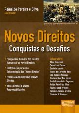 Capa do livro: Novos Direitos, Coordenador: Reinaldo Pereira e Silva