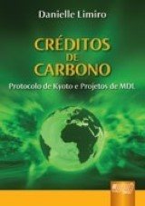Capa do livro: Créditos de Carbono, Danielle Limiro