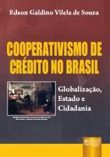 Capa do livro: Cooperativismo de Crédito no Brasil, Edson Galdino Vilela de Souza