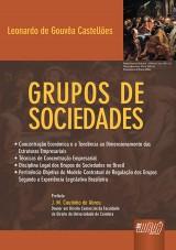 Capa do livro: Grupos de Sociedades, Leonardo de Gouvêa Castellões