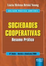 Capa do livro: Sociedades Cooperativas, Lúcia Helena Briski Young