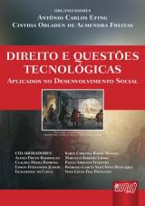 Capa do livro: Direito e Questões Tecnológicas Aplicados no Desenvolvimento Social, Organizadores: Antônio Carlos Efing e Cinthia Obladen de Almendra Freitas