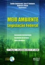 Capa do livro: Meio Ambiente, Organizadores: Emilio Sabatovski, Iara P. Fontoura e Andrea B. Klock
