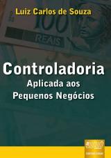 Capa do livro: Controladoria, Luiz Carlos de Souza