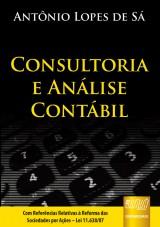 Capa do livro: Consultoria e An�lise Cont�bil, Ant�nio Lopes de S�