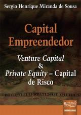 Capa do livro: Capital Empreendedor, Sergio Henrique Miranda de Sousa