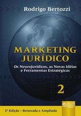 Capa do livro: Marketing Jurídico, Rodrigo Bertozzi