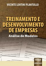 Capa do livro: Treinamento e Desenvolvimento de Empresas, Vicente Lentini Plantullo