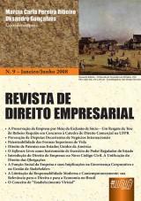 Capa do livro: Revista de Direito Empresarial - Nº 09 - Janeiro/Junho de 2008, Marcia Carla Pereira Ribeiro e Oksandro Gonçalves