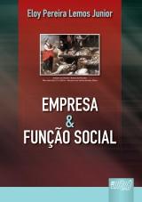 Capa do livro: Empresa & Função Social, Eloy Pereira Lemos Junior