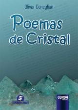 Capa do livro: Poemas de Cristal, Olivar Coneglian