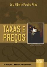 Capa do livro: Taxas e Preços, Luiz Alberto Pereira Filho