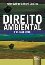 Capa do livro: Direito Ambiental, Heron José de Santana