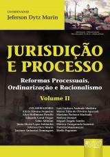Capa do livro: Jurisdição e Processo II, Coordenador: Jeferson Dytz Marin