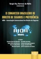 Capa do livro: II Congresso Brasileiro de Direito de Seguros e Previdência, Coordenador: Sergio Ruy Barroso de Mello