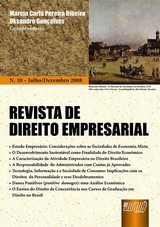 Capa do livro: Revista de Direito Empresarial - Nº 10 – Julho/Dezembro 2008, Marcia Carla Pereira Ribeiro e Oksandro