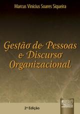 Capa do livro: Gestão de Pessoas e Discurso Organizacional, Marcus Vinicius Soares Siqueira