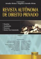 Capa do livro: Revista Autônoma de Direito Privado - Número 5 - Doutrina - Atualidades - Pareceres - Direito Vivo Comentado, Arruda Alvim e Angélica Arruda Alvim