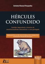 Capa do livro: Hércules Confundido, António Manuel Hespanha