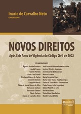 Capa do livro: Novos Direitos, Coordenador: Inacio de Carvalho Neto