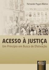 Capa do livro: Acesso à Justiça, Fernando Pagani Mattos