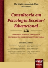Capa do livro: Consultoria em Psicologia Escolar/Educacional, Organizadora/colaboradora: Mariita Bertassoni da Silva