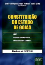 Capa do livro: Constituição do Estado de Goiás, Organizadores: Emilio Sabatovski, Iara P. Fontoura e Karla Knihs