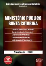 Capa do livro: Ministério Público - Santa Catarina, Organizadores: Emilio Sabatovski, Iara P. Fontoura e Karla Knihs
