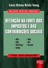 Capa do livro: Retenção na Fonte das Contribuições Sociais, Lúcia Helena Briski Young