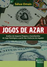 Capa do livro: Jogos de Azar, Sálua Omais