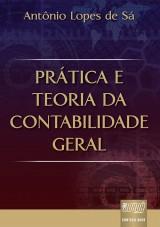 Capa do livro: Prática e Teoria da Contabilidade Geral, Antônio Lopes de Sá