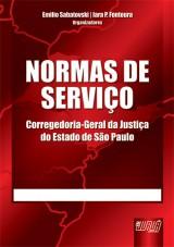 Capa do livro: Normas de Serviço, Organizadores: Emilio Sabatovski e Iara P. Fontoura