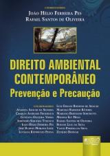 Capa do livro: Direito Ambiental Contemporâneo, Coordenadores: João Hélio Ferreira Pes e Rafael Santos de Oliveira