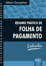 Capa do livro: Resumo Prático de Folha de Pagamento, Gilson Gonçalves