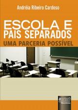 Capa do livro: Escola e Pais Separados, Andréia Ribeiro Cardoso