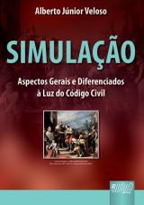 Capa do livro: Simulação, Alberto Júnior Veloso
