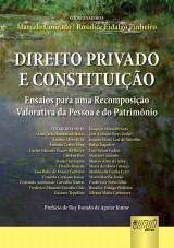 Capa do livro: Direito Privado e Constituição, Coordenadores: Marcelo Conrado e Rosalice Fidalgo Pinheiro