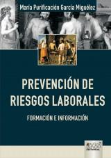 Capa do livro: Prevenci�n de Riesgos Laborales - Formaci�n e Informaci�n, Mar�a Purificaci�n Garc�a Migu�lez