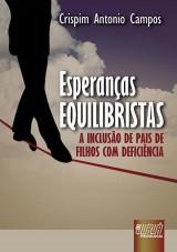Capa do livro: Esperanças Equilibristas, Crispim Antonio Campos