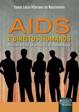 Capa do livro: Aids e Direitos Humanos, Vanda Lúcia Vitoriano do Nascimento