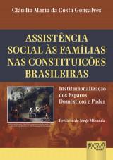 Capa do livro: Assistência Social às Famílias nas Constituições Brasileiras, Cláudia Maria da Costa Gonçalves