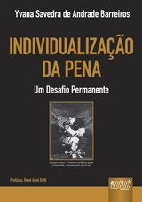 Capa do livro: Individualização da Pena, Yvana Savedra de Andrade Barreiros