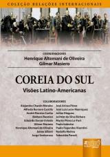 Capa do livro: Coreia do Sul, Henrique Altemani de Oliveira e Gilmar Masiero